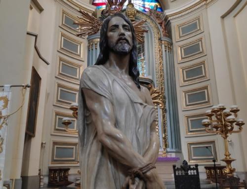 San Sebastián de Atocha recibe la visita del Divino Cautivo